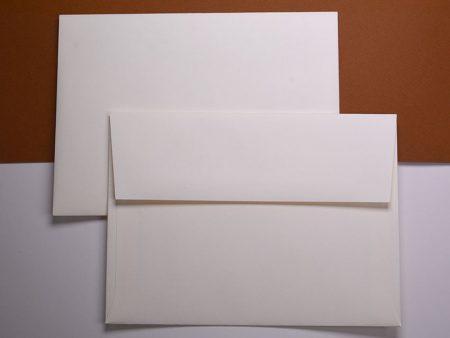 Envelope - Classic Crest - Natural White