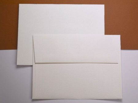 Envelope - Classic Linen - Natural White