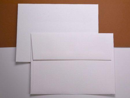 Envelope - Classic Linen - Solar White