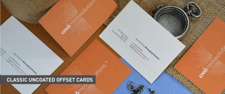 Classic Business Cards - Uncoated Offset