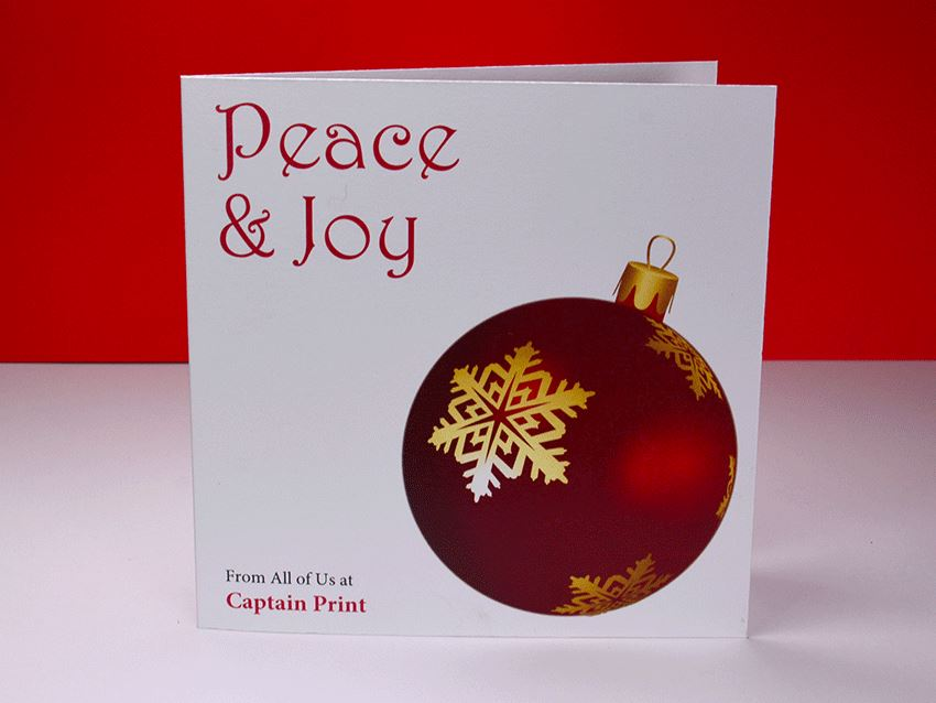 Greeting Card - Christmas Ornaments 02
