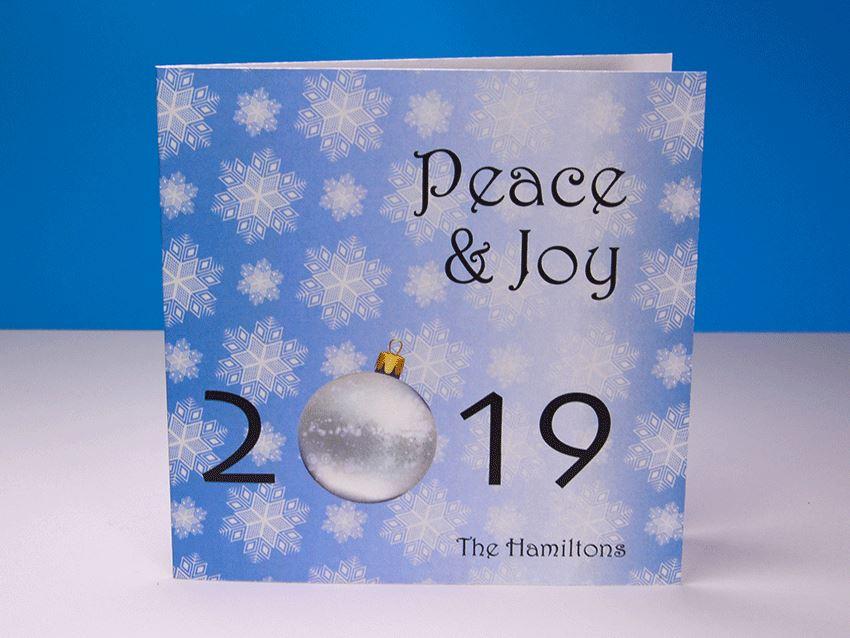 Greeting Card - Christmas Ornaments 03