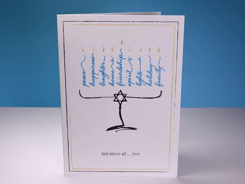 Greeting Card - Hanukkah 01
