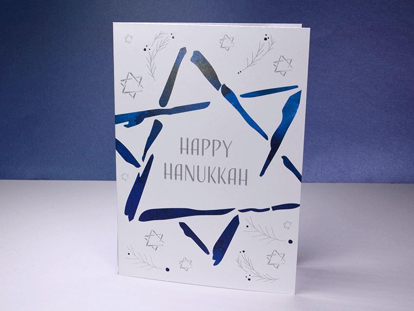 Greeting Card - Hanukkah 02