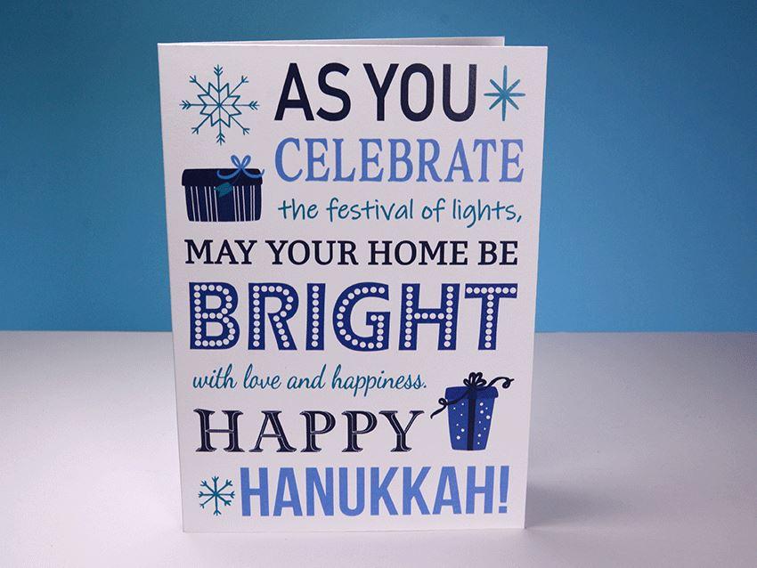 Greeting Card - Hanukkah 03