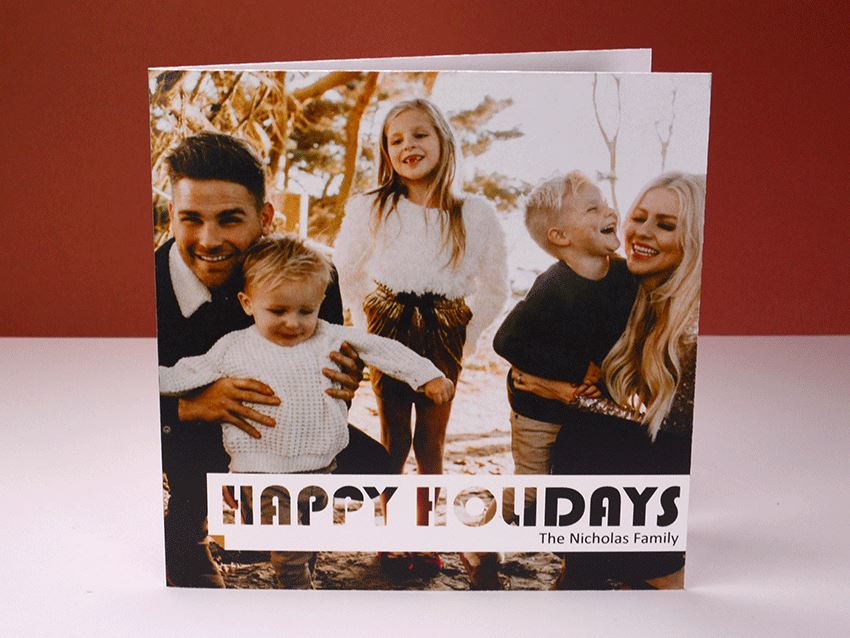Greeting Card - Happy Holiday 01