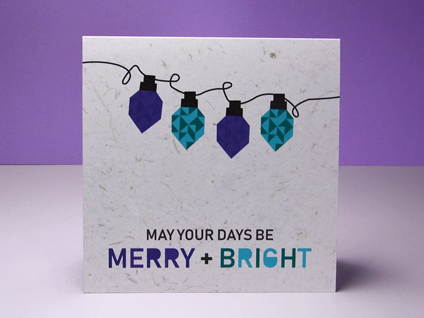 Greeting Card - Merry and Bright 01