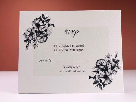 Diamond Flower 02 RSVP