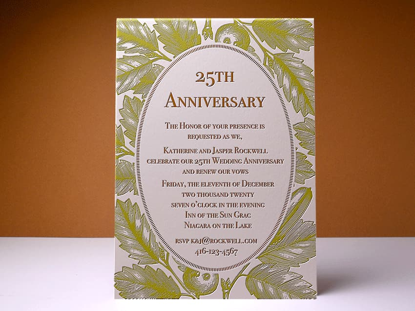 Invitation - Anniversary 01