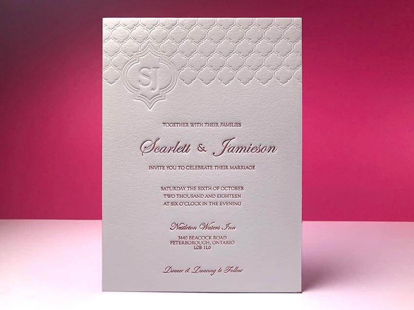 Invitation - Initials 01