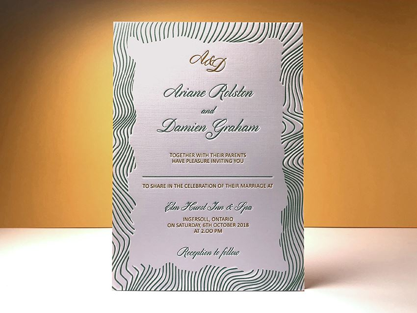 Invitation - Line Border 01