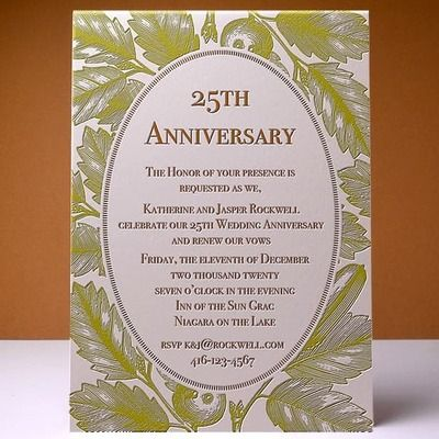 Invitations Letterpress