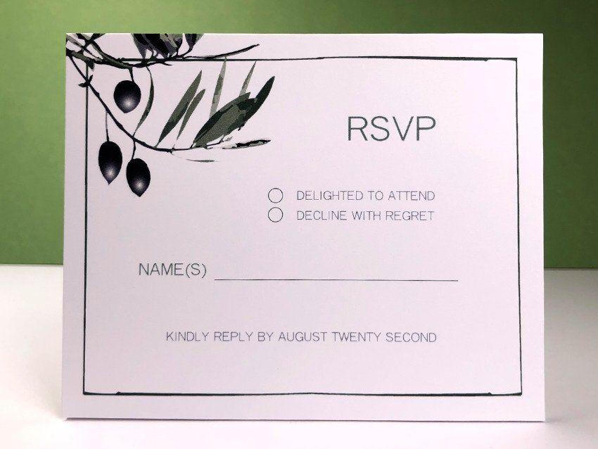 Olive 01 RSVP