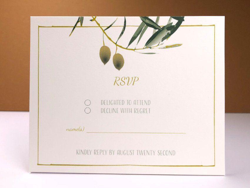 Olive 02 RSVP
