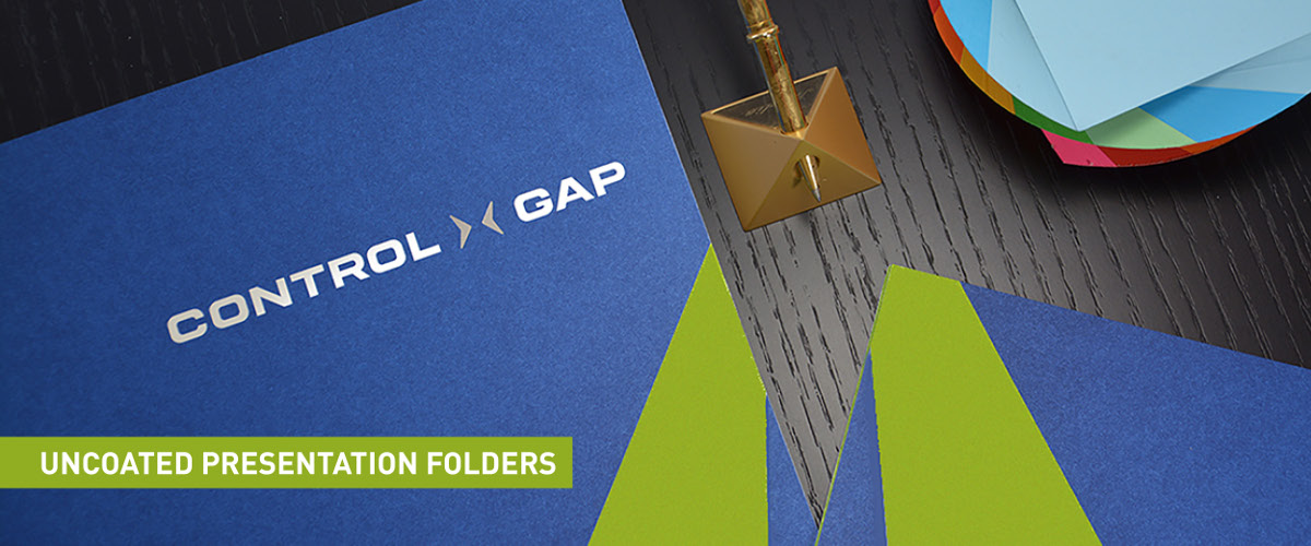 Presentation Folders - Uncoated