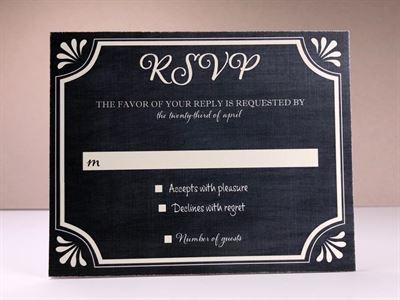 Chalk Board 01 RSVP