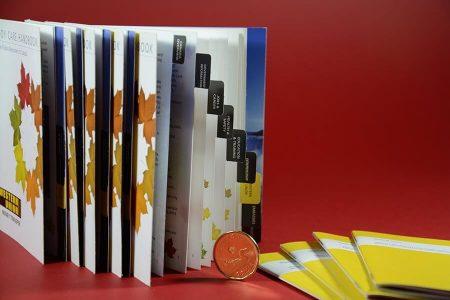 Saddle Stitching - mini-tabbed Booklets
