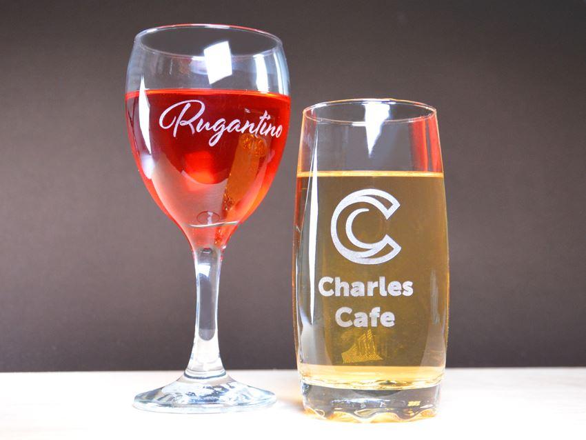 Laser Engraved Drinkware